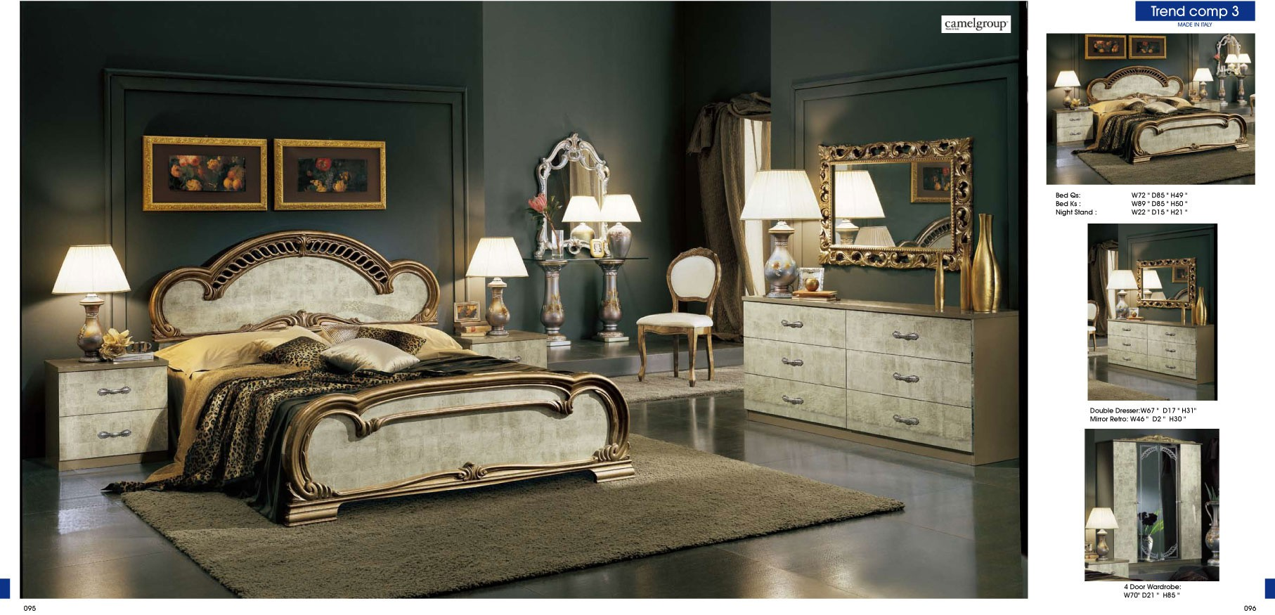 ESF Classic Bedrooms Trend KS Bronze