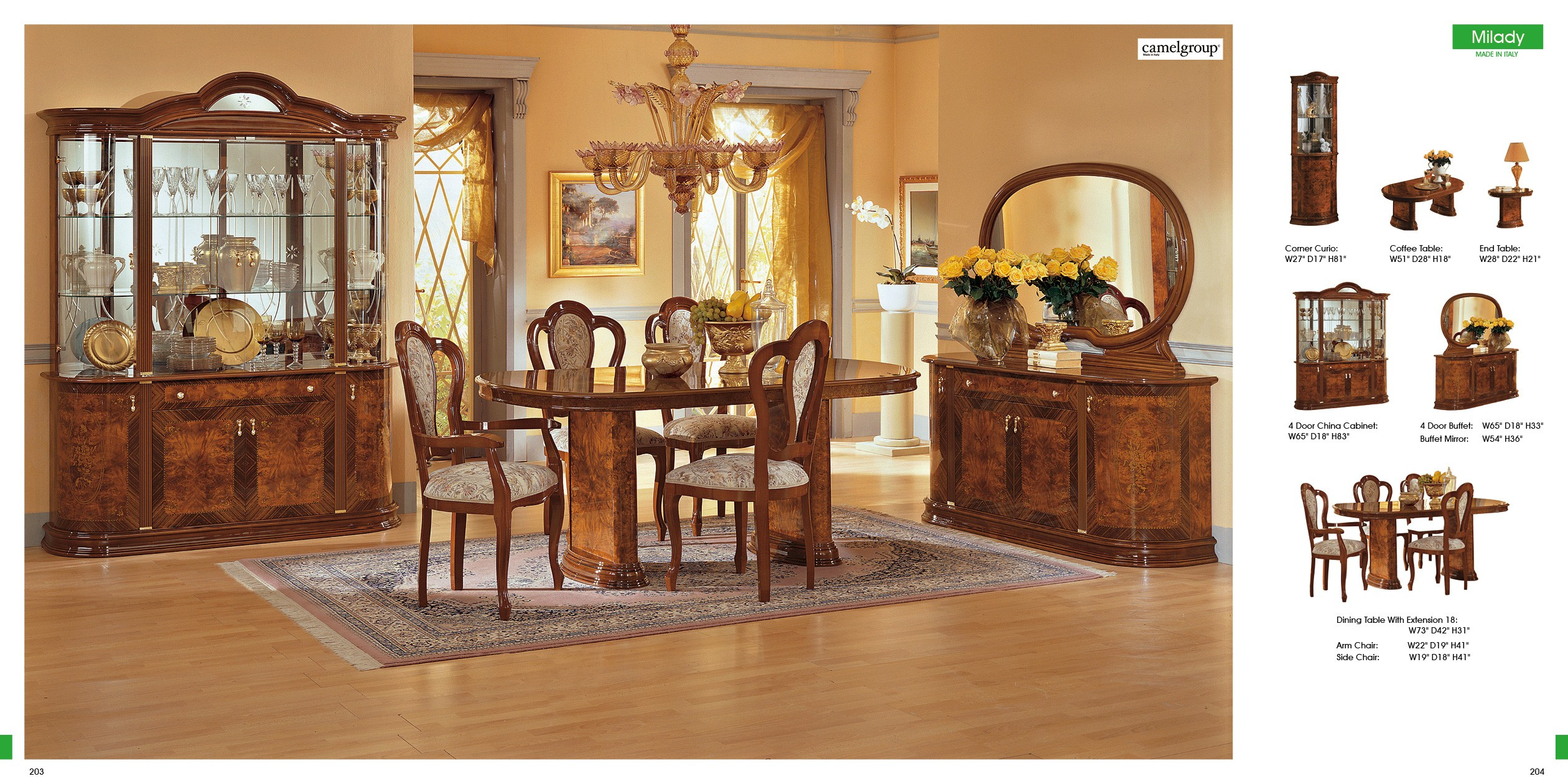 ESF Classic Dining Rooms Milady Dining