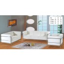 Living Room Set F02 White