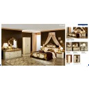 ESF Classic Bedrooms Barocco Ivory w/Gold