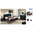 ESF Full Size Beds Toledo 603 Black, M73, C73, E93