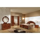 ESF MCS Classic Bedrooms Italy Angelica Walnut