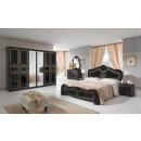 ESF MCS Classic Bedrooms Italy Thara Black