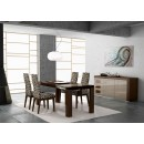 ESF Modern Dining Rooms Irene Table Ada Chairs Lacquered