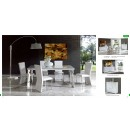 ESF Modern Dining Rooms Coco Dining Room White