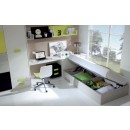 ESF Twin Size Juvenile Bedrooms CR 1000