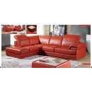 ESF Sectionals 605 Sectional Orange, color 1050