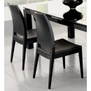 Diamond Chairs in Black Lacquer Finish - Set of 2