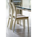 Diamond Chairs in Ivory Lacquer Finish - Set of 2