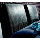 Diamond Headboard PilloWithCushion in Black
