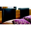 Gap Headboard Cushion-Pillow in Black - Set of 2