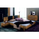 4-Piece Gap Queen Bedroom w Black Headboard Pillows